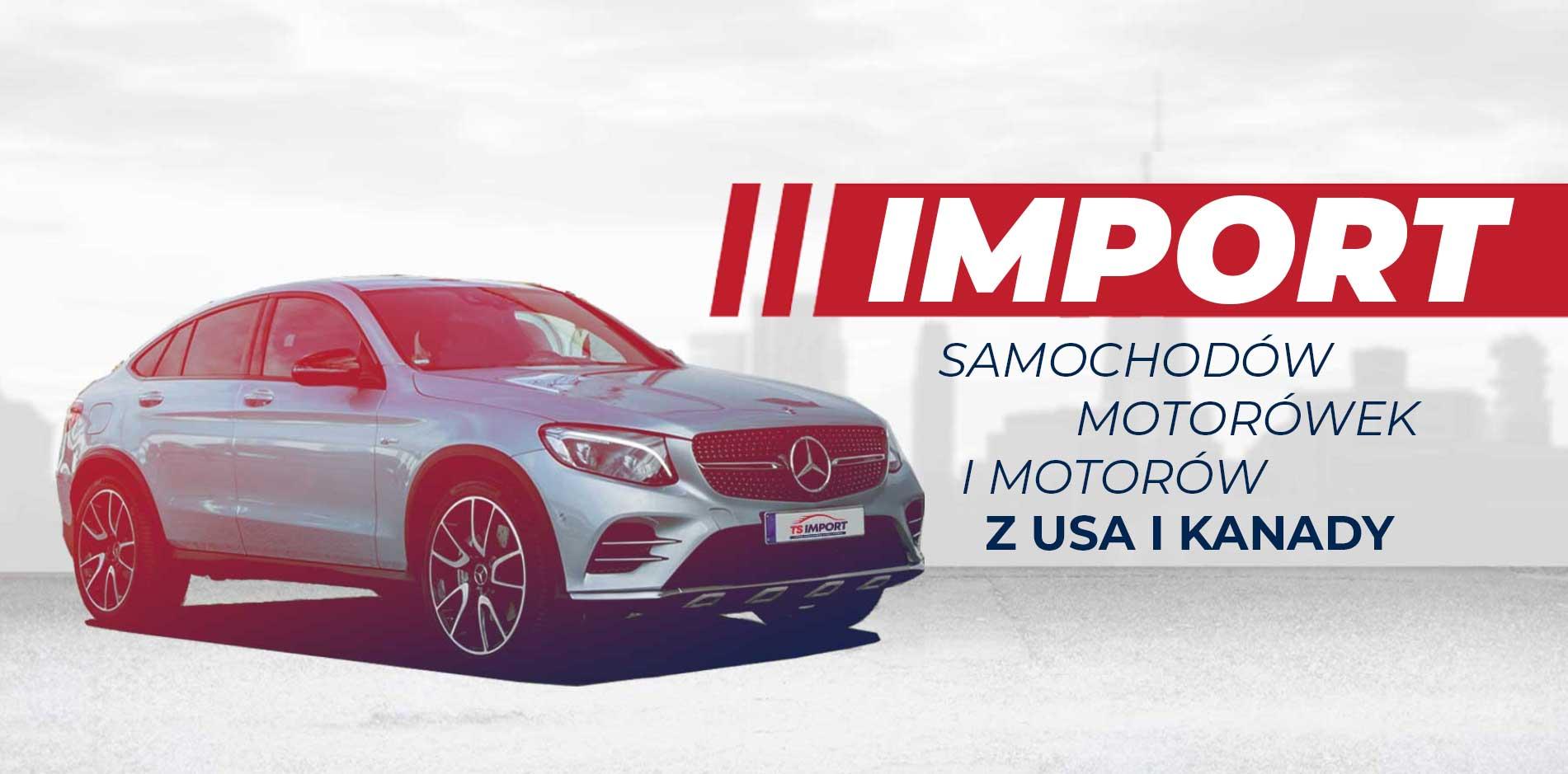 TSIMPORT - Import samochodów zUSA iKanady